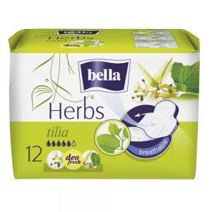Absorbante Herbs Tilia Bella, 12 bucăți, Tzmo Sa