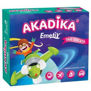 Acadele Akadika Emetix, 7 bucăți, Fiterman Pharma