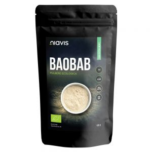 Baobab pulbere ecologica, 125 g, Niavis