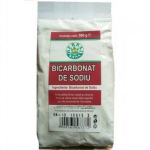 Bicarbonat de sodiu – 500 g Herbavit