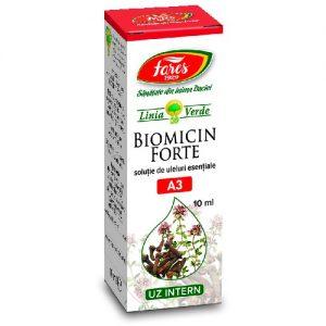 Ulei Biomicin Forte, A3, 10 ml, Fares