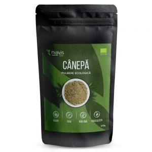 Canepa pulbere ecologica, 250 g, Niavis