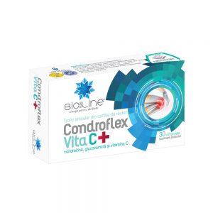 Condroflex Vita C, 30 tablete, Helcor