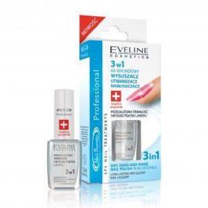 Tratament soluție cuprinzătoare Nail Therapy 3ÎN1, 12 ml, Eveline Cosmetics