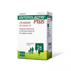 Enterolactis Plus, 10 plicuri, Sofar
