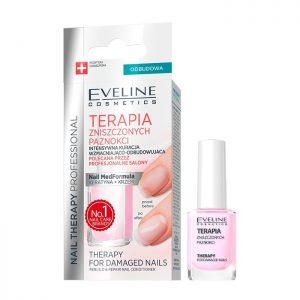 Tratament pentru unghii deteriorate Nail Therapy, 12 ml, Eveline Cosmetics