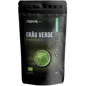 Grau verde pulbere ecologica, 125 g, Niavis
