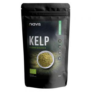 Kelp pulbere ecologica, 125 g, Niavis