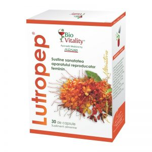Tonic uterin – Lutropep, 60 capsule, Bio Vitality