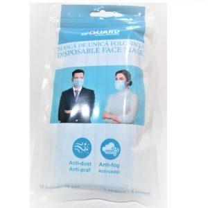 Masca de unica folosinta sterila 3 straturi 10 buc/pachet