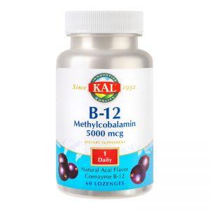 Metilcobalamina (Vitamina B12) 5000mcg Kal, 60 comprimate, Secom