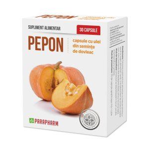 Pepon cu ulei de Dovleac, 30 capsule, Parapharm
