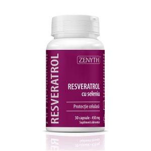 Resveratrol cu seleniu, 30 capsule, Zenyth