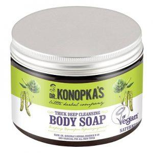 Săpun pentru curățarea profundă a pielii, 500 ml, Dr. Konopkas