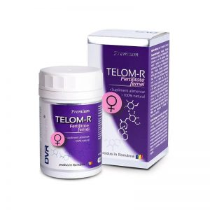 Telom-R Fertilitate Femei, 120 cspsule, DVR Pharm