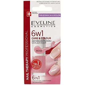 Tratament profesional Care & Colour Nail Therapy 6ÎN1 – French, 5 ml, Eveline Cosmetics