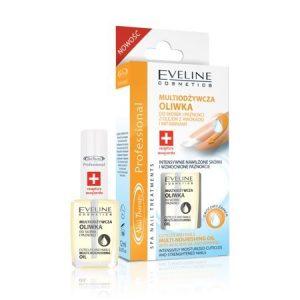 Ulei nutritiv pentru cuticule si unghii, 12 ml, Eveline Cosmetics