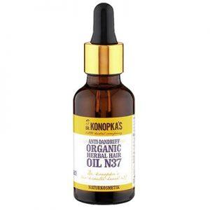 Ulei organic anti-mătreață pentru par nr. 37, 30 ml, Dr. Konopkas