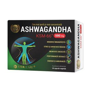 Ashwagandha KSM-66, 30 capsule, Cosmo Pharm