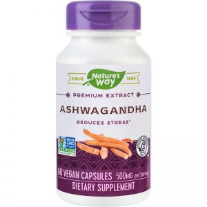 Ashwagandha SE 500mg Nature's Way, 60 capsule, Secom