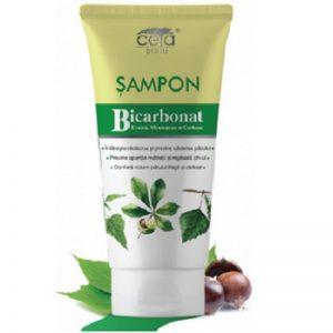 Șampon cu bicarbonat, urzică și castane, 200ml, Ceta
