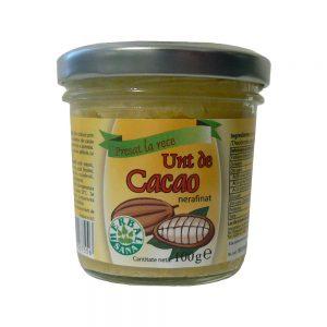 Unt de cacao nerafinat, 100 g, Herbavit