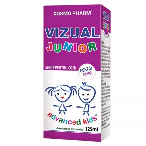 Vizual Junior Sirop, 125 ml, Cosmopharm