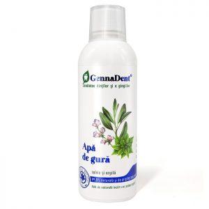Apa de gura cu salvie și argila GennaDent, 500 ml, Vivanatura