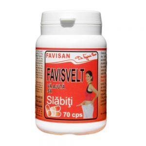 Favisvelt, 70 capsule, Favisan