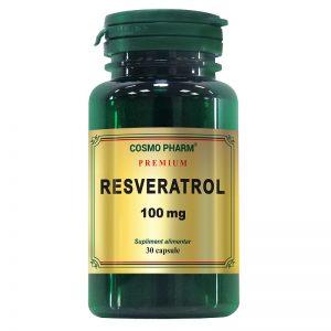 Resveratrol 100 mg Premium, 30 capsule, Cosmopharm