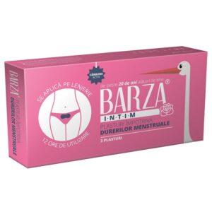 Plasturi împotriva durerilor menstruale Barza, 3 bucăți, Biotech Atlantic USA