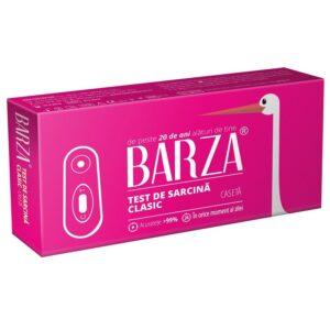 Test de sarcină casetă Barza, 1 bucată, Biotech Atlantic USA