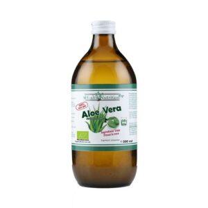 Aloe cu micropulpa 100% pur, Bio, 500ml