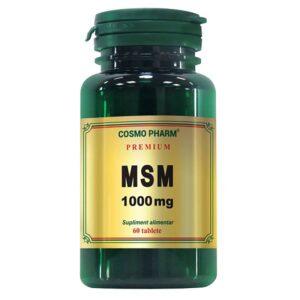 MSM 1000 mg, 60 tablete, Cosmopharm
