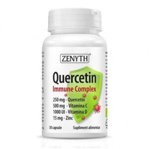 Quercetin Immune Complex, 30 capsule, Zenyth